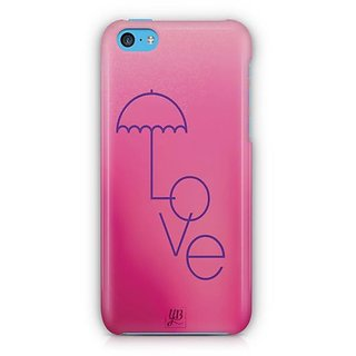 YuBingo Love Umbrella Designer Mobile Case Back Cover for Apple iPhone 5C