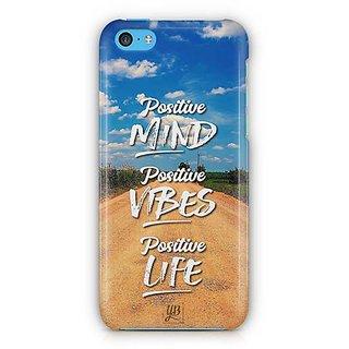 YuBingo Positive Mind Designer Mobile Case Back Cover for Apple iPhone 5C