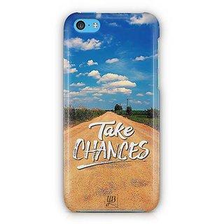 YuBingo Take Chances Designer Mobile Case Back Cover for Apple iPhone 5C