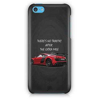 YuBingo There is no Traffic after the Extra Mile Designer Mobile Case Back Cover for Apple iPhone 5C
