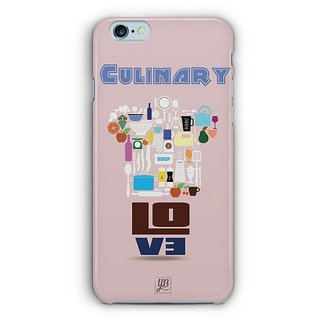YuBingo Culinary Love Designer Mobile Case Back Cover for Apple iPhone 6 / 6S
