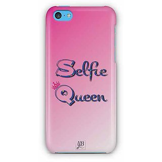 YuBingo Selfie Queen Designer Mobile Case Back Cover for Apple iPhone 5C