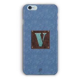 YuBingo Monogram with Beautifully Written Jeans and Macho Male Leather Finish letter V Designer Mobile Case Back Cover for Apple iPhone 6 / 6S