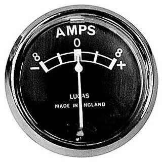 Customized Amp Meter/ Ammeter Old Model for Bullet-Black