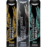 Park Avenue Impact Regal,Urbane,Icon Prefumed Deodorants Pack Of 3 For Men Combo Set (Set Of 3)