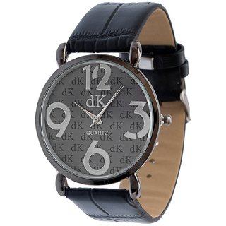 Analogue Black Dial DK Wrist Watch for Men