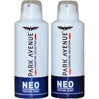 Park Avenue NEO (Pack of 2) Deodorant Spray - For Boys Men (130 ml)
