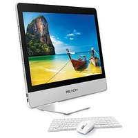 "Reach RCA-011 (Core I5, 8GB, 1TB Dos ) 24.6"" Monitor, Wireless Keyboard Mouse All In One Desktop"