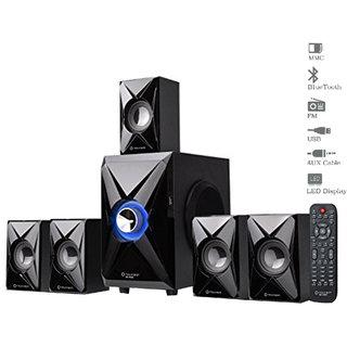 Truvison SE-5065 5.1 Multimedia Speaker with Bluetooth USB FM AUX MMC