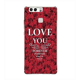 YuBingo Love You Forever Designer Mobile Case Back Cover for Huawei P9