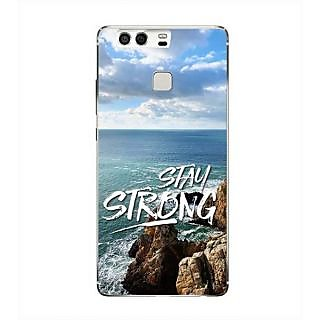 YuBingo Stay Strong Designer Mobile Case Back Cover for Huawei P9