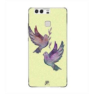 YuBingo Flying Birds Designer Mobile Case Back Cover for Huawei P9