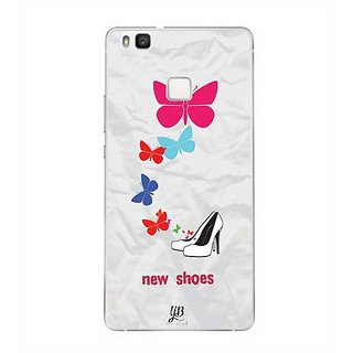 YuBingo New Shoes & Butterflies Designer Mobile Case Back Cover for Huawei P9 Lite
