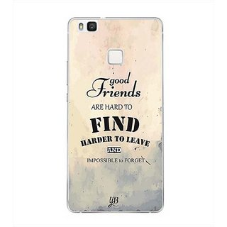 YuBingo Good Friends are Hard to Find Designer Mobile Case Back Cover for Huawei P9 Lite