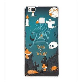 YuBingo Trick or treat Designer Mobile Case Back Cover for Huawei P9 Lite