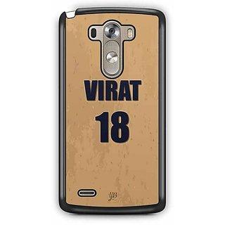 YuBingo Virat, 18 Designer Mobile Case Back Cover for LG G3