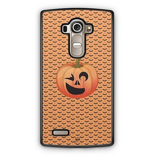 YuBingo Halloween Pumpkin Designer Mobile Case Back Cover for LG G4