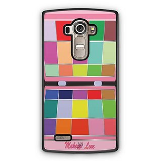 YuBingo Makeup Love Designer Mobile Case Back Cover for LG G4