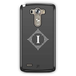 YuBingo Monogram with Beautifully Written letter I Designer Mobile Case Back Cover for LG G3