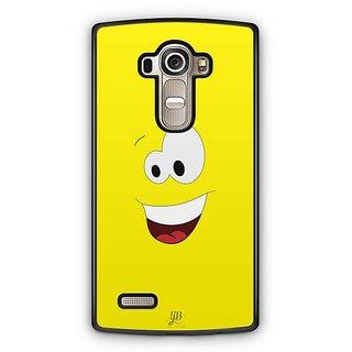 YuBingo Amazed Smiley Designer Mobile Case Back Cover for LG G4