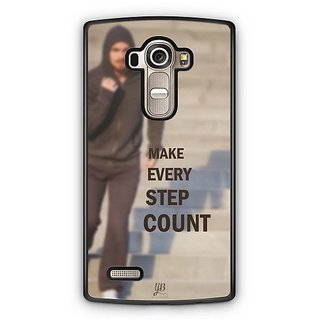 YuBingo Make Every Step Count Designer Mobile Case Back Cover for LG G4