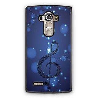 YuBingo Musical Note Designer Mobile Case Back Cover for LG G4