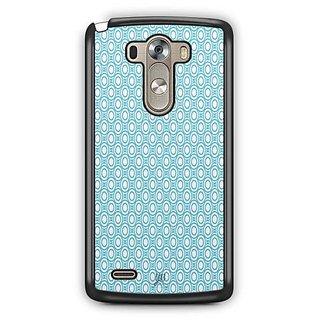 YuBingo Blue circles Pattern Designer Mobile Case Back Cover for LG G3