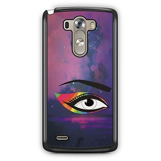 YuBingo Colourful Eye Designer Mobile Case Back Cover for LG G3