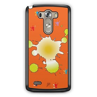 YuBingo Colours on Canvas Designer Mobile Case Back Cover for LG G3