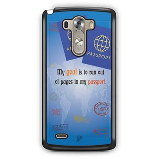 YuBingo Travel the World Designer Mobile Case Back Cover for LG G3