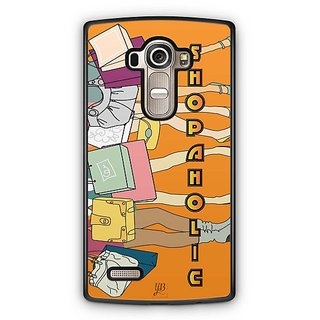 YuBingo Shopaholic Designer Mobile Case Back Cover for LG G4