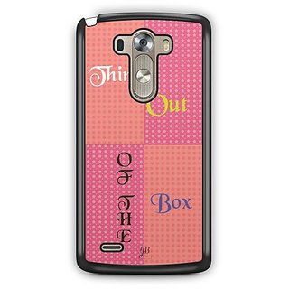 YuBingo Think Out of the Box Designer Mobile Case Back Cover for LG G3