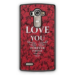 YuBingo Love You Forever Designer Mobile Case Back Cover for LG G4