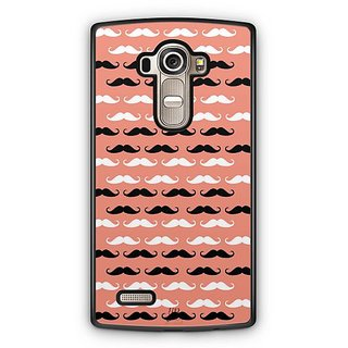 YuBingo Moustache Designer Mobile Case Back Cover for LG G4