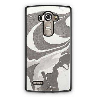 YuBingo Grey White Marble Finish (Plastic) Designer Mobile Case Back Cover for LG G4