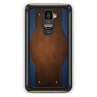 YuBingo Jeans and Leather Finish (Plastic) Designer Mobile Case Back Cover for LG G2