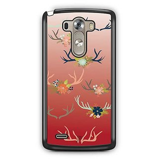 YuBingo Deer horns pattern Designer Mobile Case Back Cover for LG G3