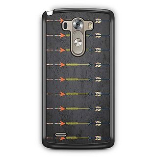 YuBingo Arrow pattern Designer Mobile Case Back Cover for LG G3