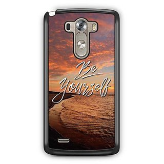 YuBingo Be Yourself Designer Mobile Case Back Cover for LG G3