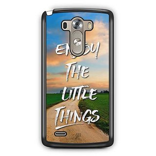 YuBingo Enjoy The Little Things Designer Mobile Case Back Cover for LG G3