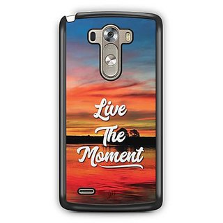 YuBingo Live the Moment Designer Mobile Case Back Cover for LG G3