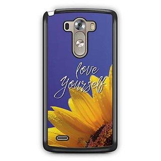 YuBingo Love Yourself Designer Mobile Case Back Cover for LG G3