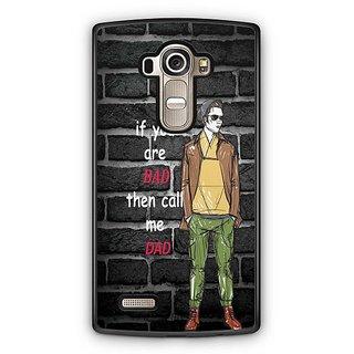 YuBingo Call me Dad Designer Mobile Case Back Cover for LG G4