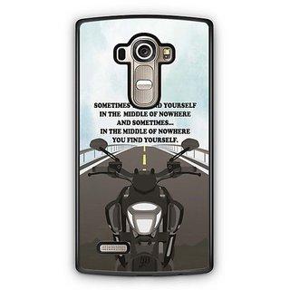 YuBingo Find Yourself Designer Mobile Case Back Cover for LG G4