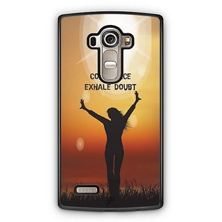 YuBingo Inhale Confidence Designer Mobile Case Back Cover for LG G4