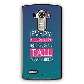 YuBingo Girl Needs a Best Friend Designer Mobile Case Back Cover for LG G4