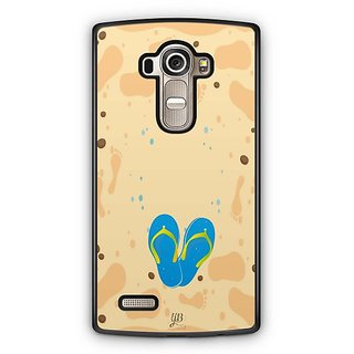 YuBingo Slippers on Beach Designer Mobile Case Back Cover for LG G4