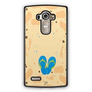 YuBingo Slippers on Beach Designer Mobile Case Back Cover for LG G4