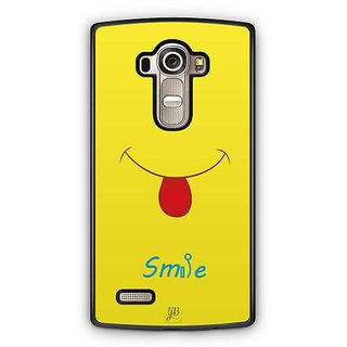 YuBingo Smile Please Designer Mobile Case Back Cover for LG G4