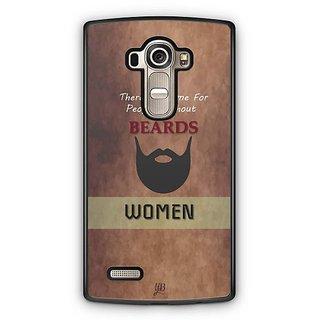 YuBingo Beard Designer Mobile Case Back Cover for LG G4